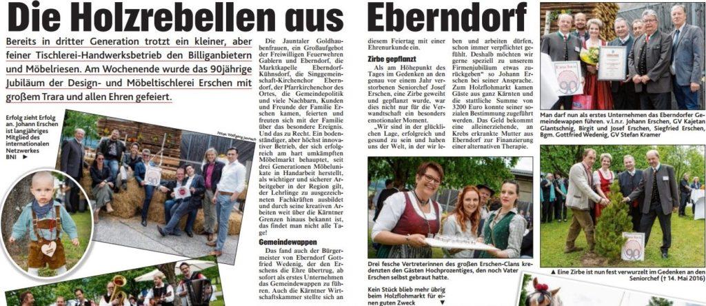 Erschen Bericht Krone Zeitung